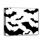 Deathrock Bats Deluxe Canvas 14  x 11  (Stretched)