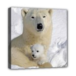 In Moms Arm Mothers Love Mini Canvas 8  x 8  (Stretched)