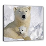 In Moms Arm Mothers Love Canvas 24  x 20  (Stretched)