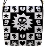 Gothic Punk Skull Removable Flap Cover (Small)