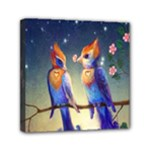 Peaceful And Love Birds Mini Canvas 6  x 6  (Stretched)
