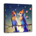 Peaceful And Love Birds Mini Canvas 8  x 8  (Stretched)