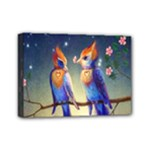 Peaceful And Love Birds Mini Canvas 7  x 5  (Stretched)