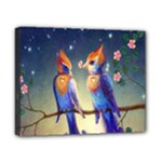Peaceful And Love Birds Canvas 10  x 8  (Stretched)