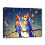 Peaceful And Love Birds Canvas 16  x 12  (Stretched)