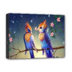 Peaceful And Love Birds Deluxe Canvas 16  x 12  (Stretched)