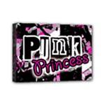 Punk Princess Mini Canvas 7  x 5  (Stretched)