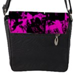 Punk Skull Princess Flap closure messenger bag (Small)