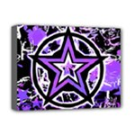 Purple Star Deluxe Canvas 16  x 12  (Stretched)