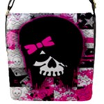 Scene Kid Girl Skull Removable Flap Cover (Small)