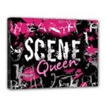 Scene Queen Canvas 16  x 12  (Stretched)