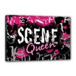 Scene Queen Canvas 18  x 12  (Stretched)