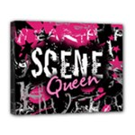 Scene Queen Deluxe Canvas 20  x 16  (Stretched)