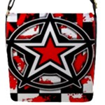 Star Checkerboard Splatter Removable Flap Cover (Small)