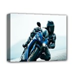 Vehicles Motorcycle Racer Deluxe Canvas 14  x 11  (Stretched)