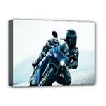 Vehicles Motorcycle Racer Deluxe Canvas 16  x 12  (Stretched)