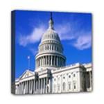 Usa White House Mini Canvas 8  x 8  (Stretched)