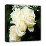 White Rose Mini Canvas 8  x 8  (Stretched)