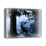 Animal Deer In Forest Deluxe Canvas 14  x 11  (Stretched)