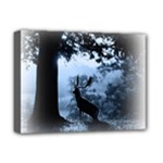 Animal Deer In Forest Deluxe Canvas 16  x 12  (Stretched)