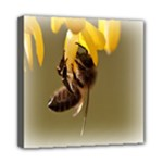 Bee Hard Work Mini Canvas 8  x 8  (Stretched)