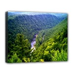 Pa Grand Canyon Long North View Of Gorge   Artrave Canvas 14  x 11  (Stretched)