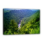 Pa Grand Canyon Long North View Of Gorge   Artrave Canvas 18  x 12  (Stretched)