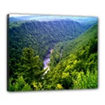 Pa Grand Canyon Long North View Of Gorge   Artrave Canvas 20  x 16  (Stretched)