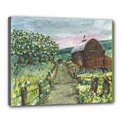 Amish Apple Blossoms - Ave Hurley - Canvas 20 x 16 (Stretched)