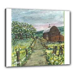 Amish Apple Blossoms - Ave Hurley - Canvas 24 x 20 (Stretched)