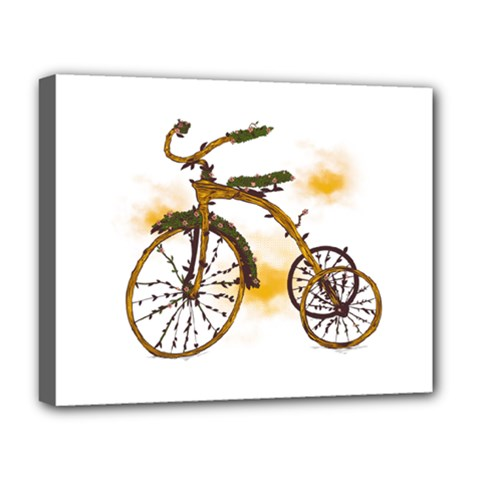 Tree Cycle Deluxe Canvas 20  X 16  (framed) by Contest1753604