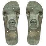 Papa Bear Feet by Jacquei - Men s Flip Flops