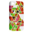 TRIANGLEZ Apple iPhone 4/4S Hardshell Case (PC+Silicone) View2