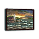 David s Lighthouse -AveHurley ArtRevu.com- Mini Canvas 7  x 5  (Stretched)