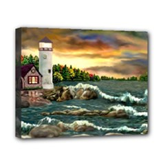 Davids Lighthouse By Ave Hurley   Canvas 10  x 8  (Stretched)
