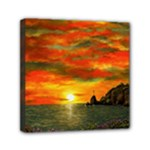 Alyssa s Sunset -Ave Hurley ArtRevu.com- Mini Canvas 6  x 6  (Stretched)