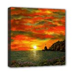 Alyssa s Sunset -Ave Hurley ArtRevu.com- Mini Canvas 8  x 8  (Stretched)