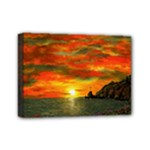 Alyssa s Sunset -Ave Hurley ArtRevu.com- Mini Canvas 7  x 5  (Stretched)