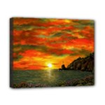 Alyssa s Sunset -Ave Hurley ArtRevu.com- Canvas 10  x 8  (Stretched)