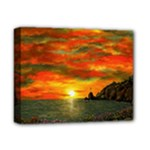 Alyssa s Sunset -Ave Hurley ArtRevu.com- Deluxe Canvas 14  x 11  (Stretched)