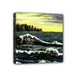 Cosgriff Point Lighthouse -AveHurley ArtRevu.com- Mini Canvas 4  x 4  (Stretched)