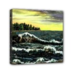 Cosgriff Point Lighthouse -AveHurley ArtRevu.com- Mini Canvas 6  x 6  (Stretched)