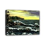 Cosgriff Point Lighthouse -AveHurley ArtRevu.com- Mini Canvas 7  x 5  (Stretched)