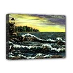 Cosgriff Point Lighthouse -AveHurley ArtRevu.com- Deluxe Canvas 16  x 12  (Stretched)