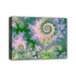 Rose Apple Green Dreams, Abstract Water Garden Mini Canvas 7  x 5  (Framed)