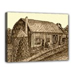 Sugarcreek Barn - Ave Hurley - Canvas 16  x 12  (Stretched)