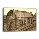 Sugarcreek Barn - Ave Hurley - Canvas 18  x 12  (Stretched)