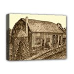 Sugarcreek Barn - Ave Hurley - Deluxe Canvas 16  x 12  (Stretched)
