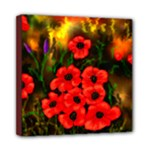 Poppies - Ave Hurley - Mini Canvas 8  x 8  (Stretched)