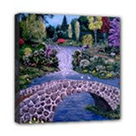 My Garden - Ave Hurley -  Mini Canvas 8  x 8  (Stretched)
